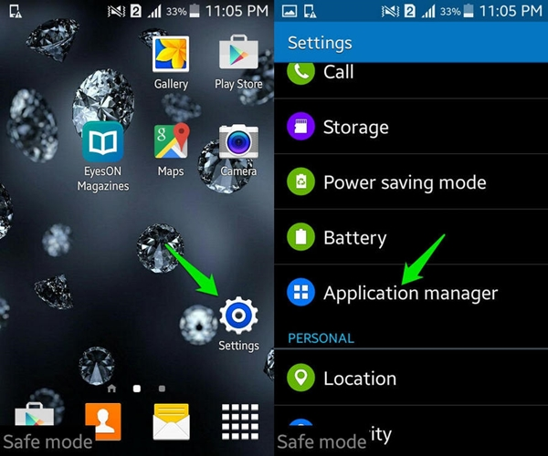 Remove Android Virus from your device
