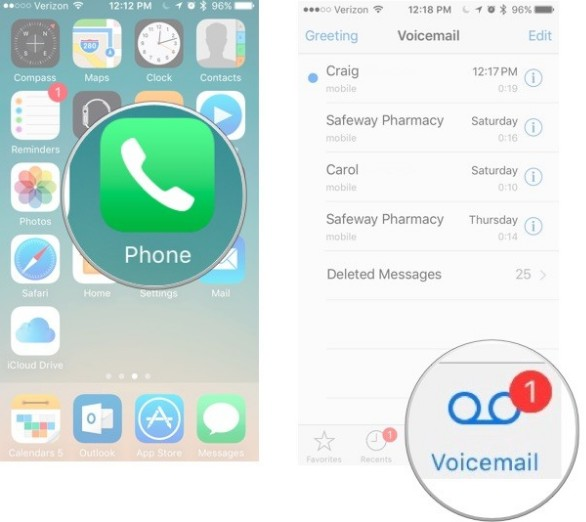 How to Transfer Voicemails from iPhone to iPhone