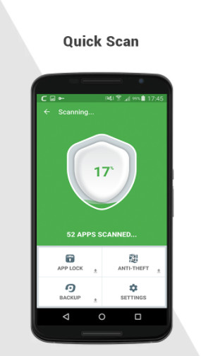 Top 4 Internet Security for Android 2017