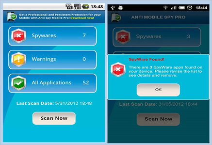 Top 1 Spyware Removal for Android