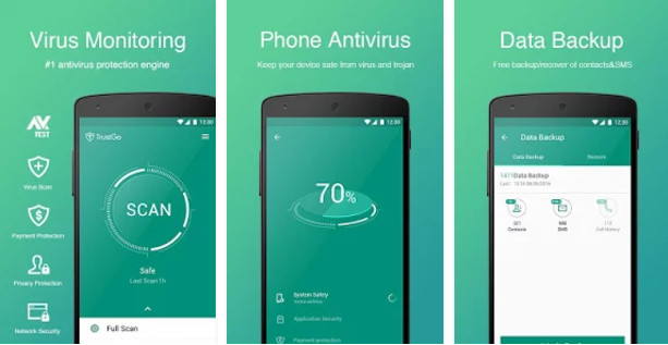 Top 5 free virus cleaner for android 2017