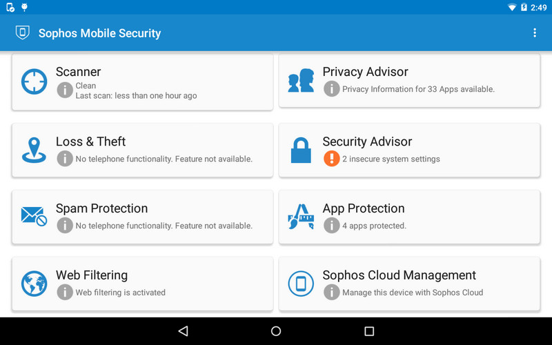 Top 6 Virus Checkers for Android 2017