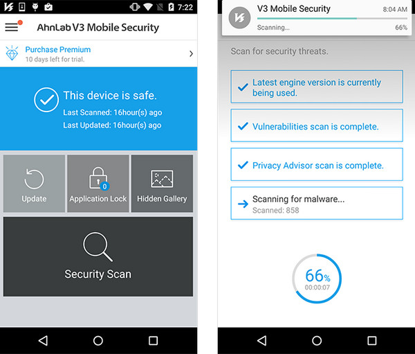 Top 7 Virus Checkers for Android 2017