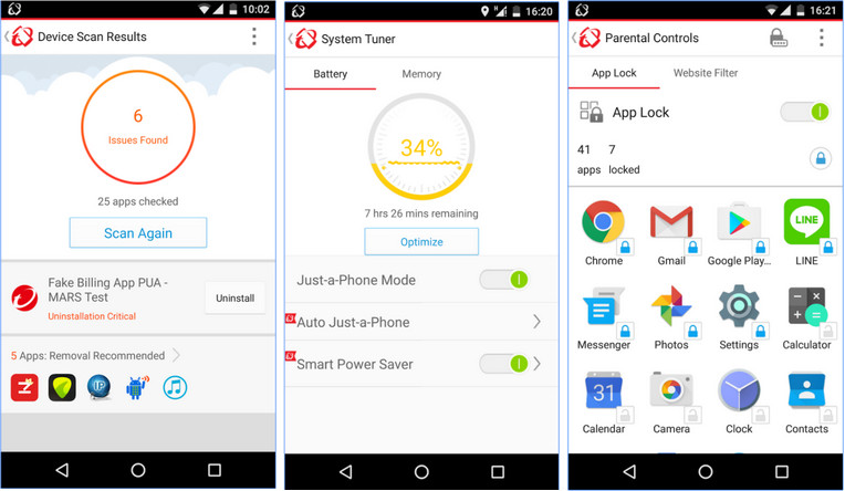 Top 9 Virus Checkers for Android 2017