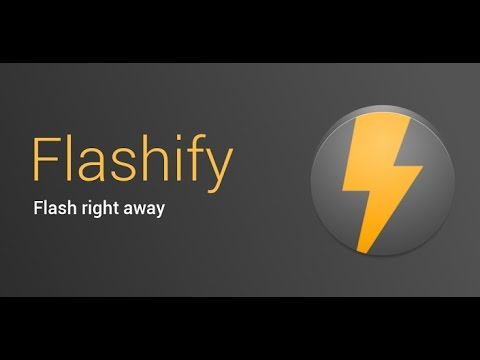Root Android Note 8-Flashify