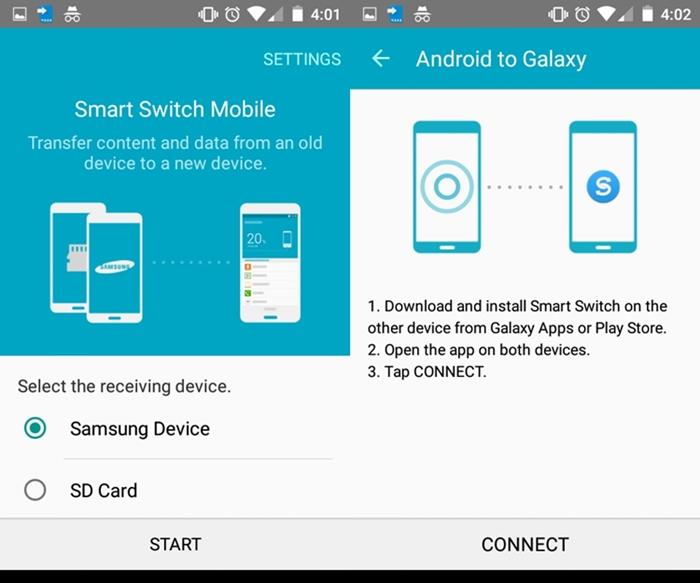 Samsung Wifi Transfer App -  Samsung Smart Switch