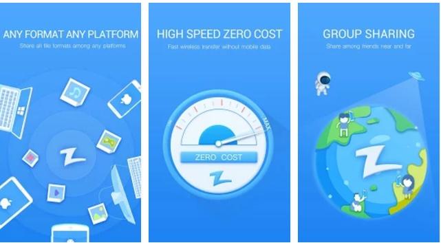 Samsung Wifi Transfer App - Zapya