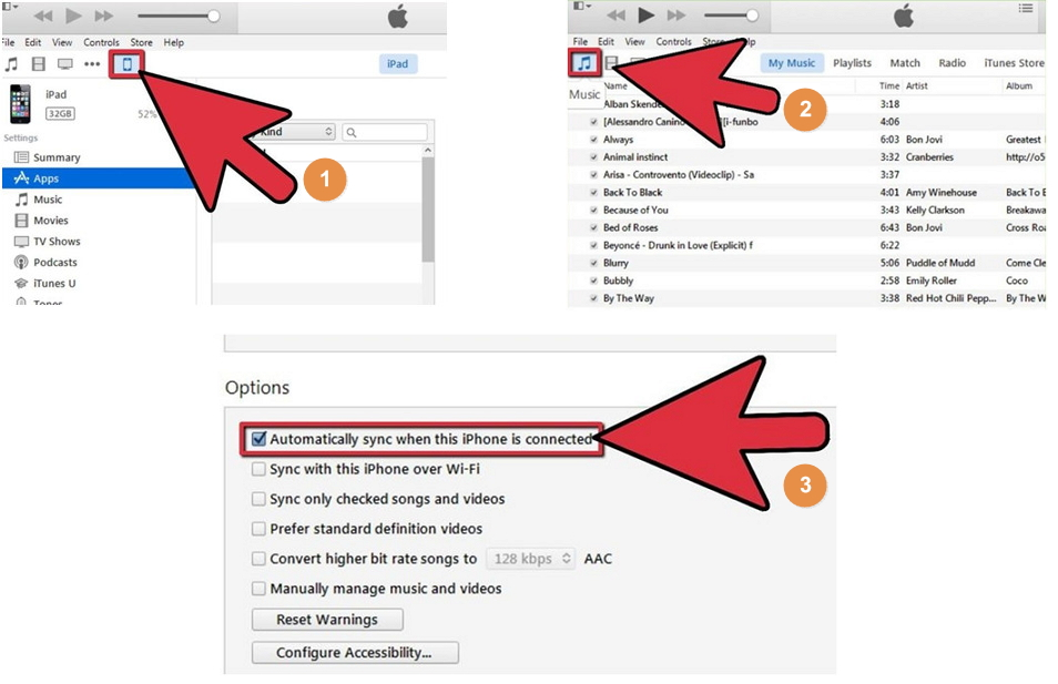 Upload iPhone/iPod/iPad Music to Google Music with iTunes