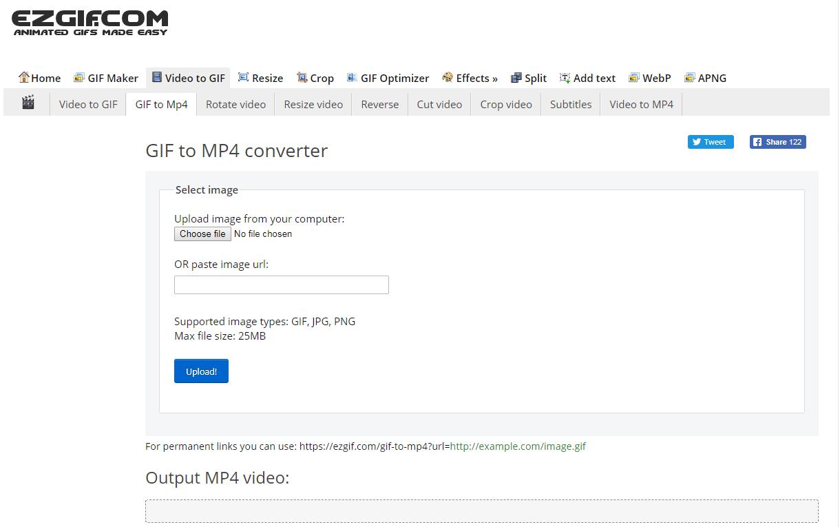 Top 10 GIF to MP4 Converter for Fun - EZGIF