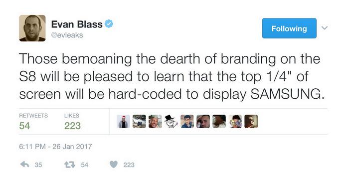Sasung Galaxy S8 Plus especificaciones
