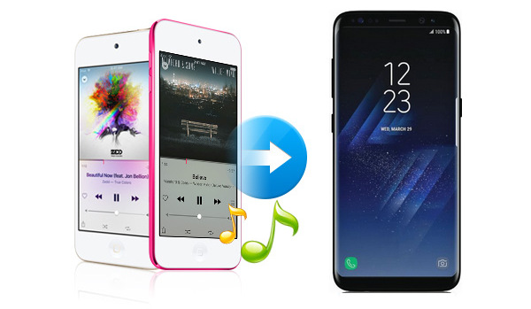 transferir musica desde ipod a samsung galaxy s8