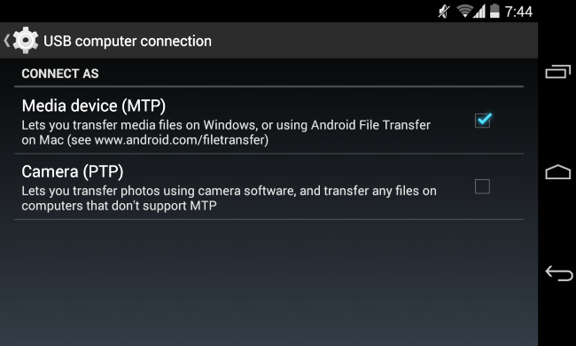 transfer videos from android to computer
