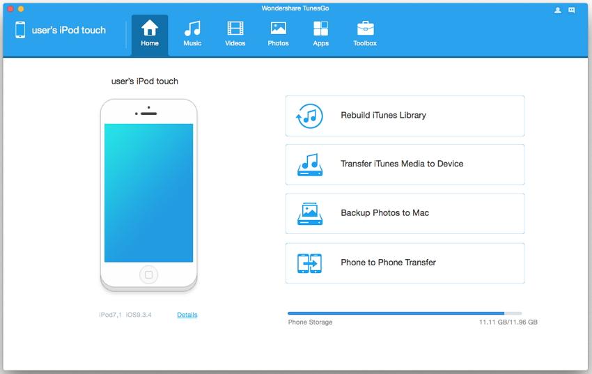 como transferir musica do ipod touch para o itunes