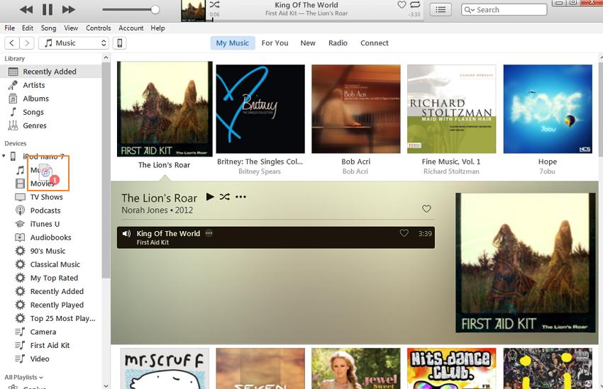 sincronizar musica com o ipod classic com o itunes