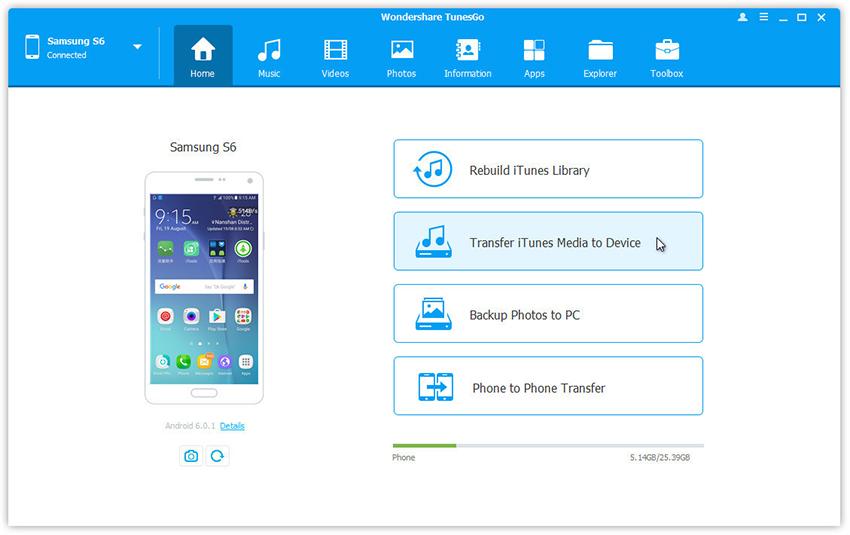 iTunes-Video zu Android übertragen