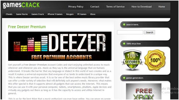 chay' deezer premium Suq free?