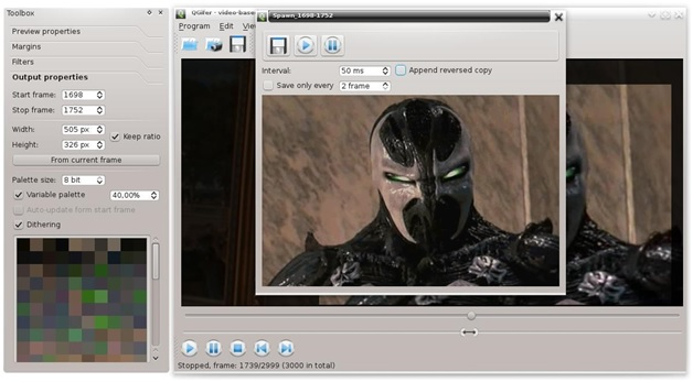 Convert Video to GIF - QGIFER