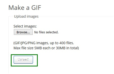 Make Cute GIF - Upload Files