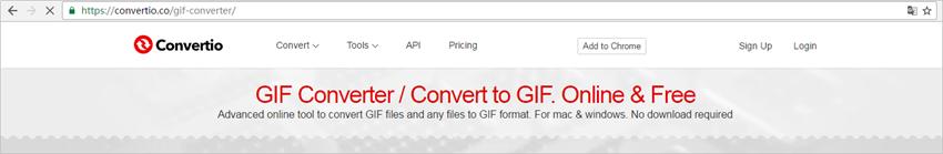 Convert GIF to MOV - Convertio.co