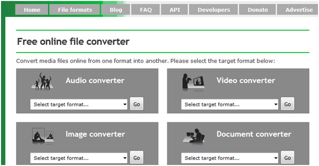 create gif from YouTube - Online convert