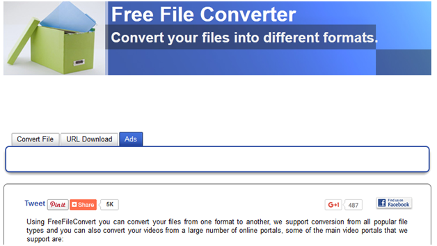 Turn YouTube Video into GIF - Free File Converter