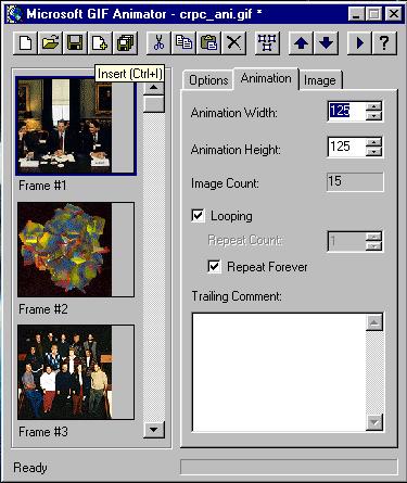 Make GIF from Video - Microsoft GIF Animator