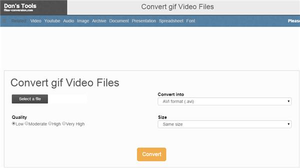 Top 10 GIF to MP4 Converter for Fun - Dan's Tool