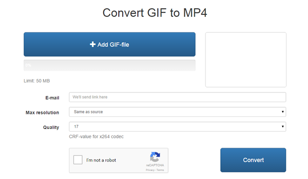 Top 10 GIF to MP4 Converter for Fun -GIF2MP4