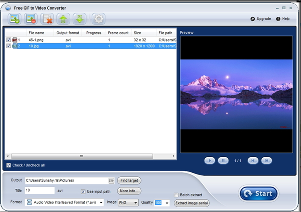 Top 10 GIF to MP4 Converter for Fun - GIF to Video Converter