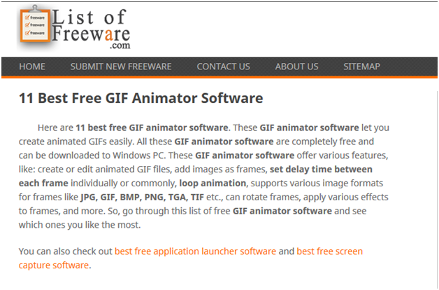 All System-Based Free GIF Converters - Good Review for Unfreeze
