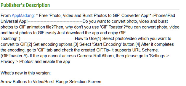 make gif on iphone - GIFtoaster good review