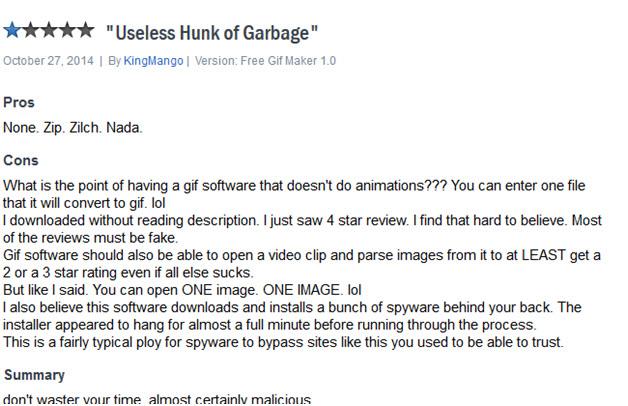make gif on iphone - GIF editor bad review