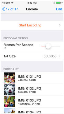 make gif on iphone - GIFtoaster
