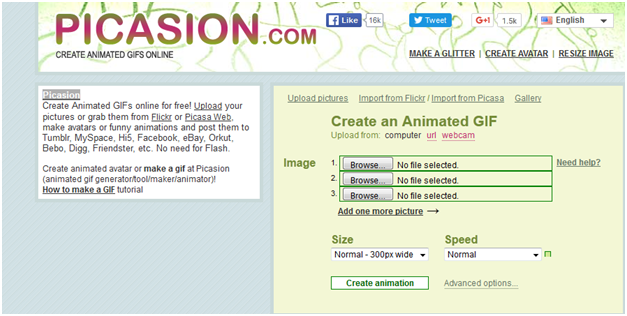 Easy to Use Online Animator - Enter Picasion