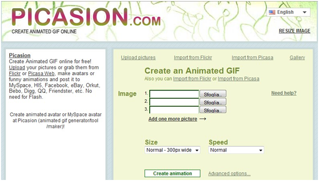 How to Make GIF from YouTube - Picasion