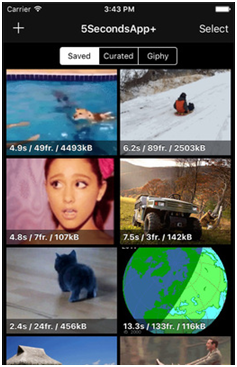 Best GIF Maker Apps for iOS and Android - Start 5SecondsApp