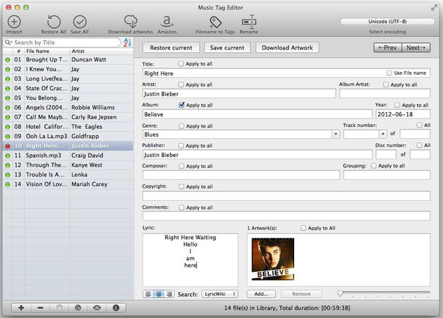 The Best Audio Tag Editor Software for Windows/OSX/Linux