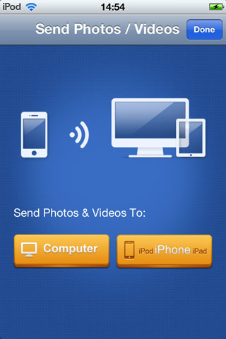 Transfer Photos from iPod to iPad via Wi-Fi