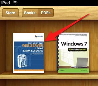 PDF-Dateien vom PC mithilfe von Dropbox auf das iPad übertragen - PDF-Datie erfolgreich übertragen