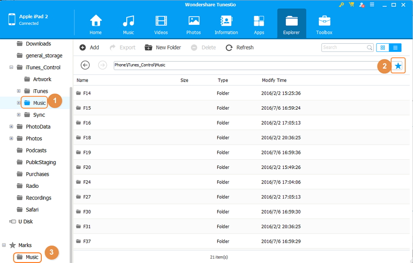 iPad File Explorer for Mac - Connect iPad