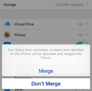 How to Sync iPhone to iPad with iCloud- Merge iCloud Data with iPhone