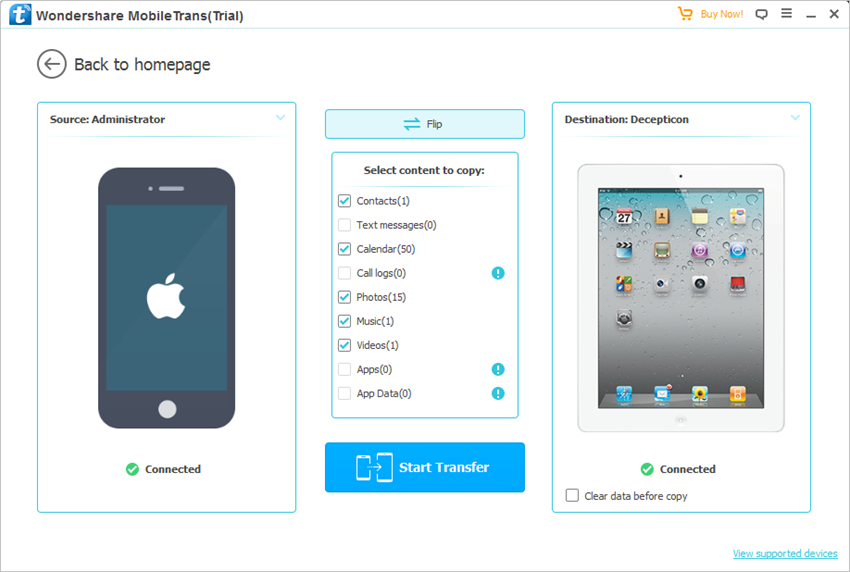 How to Sync iPhone to iPad - Sync iPhone Files