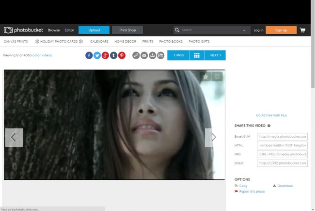 Free Video Download Sites for PC-Photobucket- Choose Video