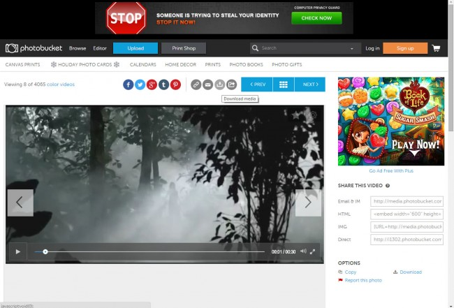 Free Video Download Sites for PC-Photobucket- Download Video
