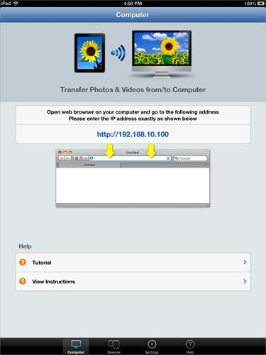 transfer pictures from pc to ipad with Simple Transfer