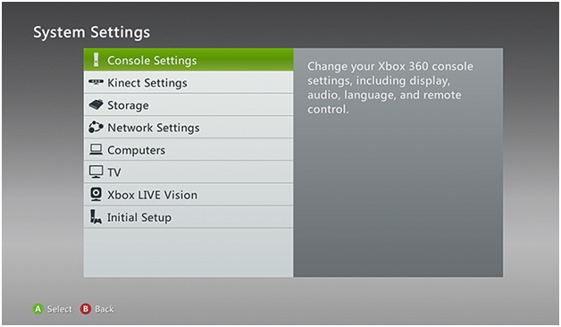 Connct Xbox to iPhone - System Settings