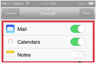 Connect Email to iPhone - Turn on Mail