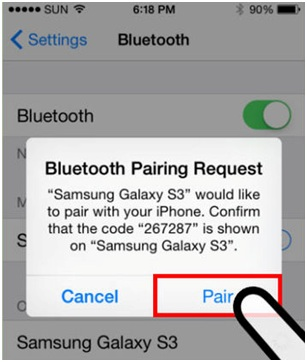 Connect Bluetooth to iPhone - Pair the Devices