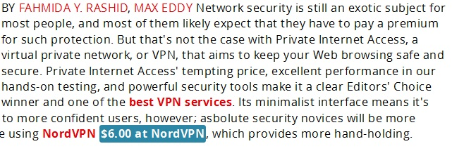 Tips for VPN connection on iPhone-Review PIA 5 stars