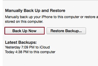 iPhone Won't Connect to Internet - Backup Now